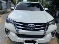 Selling Pearl White Toyota Fortuner 2017 in Pasig City