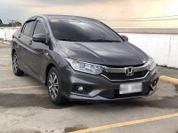 Selling Grey Honda City 2018 in Quezon City