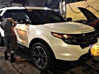 Sell White 2015 Ford Explorer SUV / MPV in Manila