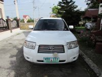 Selling White Subaru Forester 2007 SUV / MPV in Pulilan