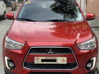 Selling Red Mitsubishi Asx 2015 SUV / MPV in Manila