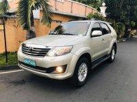 Selling Silver Toyota Fortuner 2012 SUV / MPV in Manila