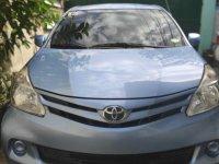 Sell Blue 2014 Toyota Avanza Van in Quezon City