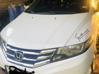 White Honda City 2012 Sedan for sale in Manila