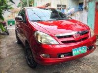 Selling Red Toyota Innova 2005 SUV / MPV in Quezon City