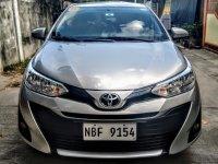 Silver Toyota Vios 2018 Sedan for sale in Manila