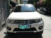 Sell White 2014 Mitsubishi Montero SUV / MPV in Manila
