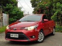 Sell Red 2014 Toyota Vios Sedan in Manila