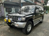 Black Mitsubishi Pajero 2004 SUV / MPV at Automatic  for sale in Manila