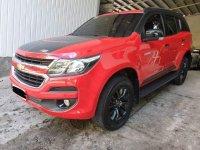 Selling RedChevrolet Trailblazer 2017 SUV / MPV in Manila