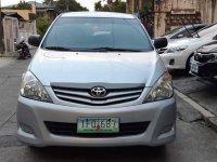 Selling Silver Toyota Innova 2011 SUV / MPV at Manual  in Manila
