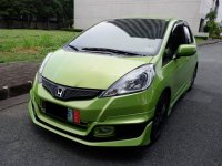 Sell Green 2012 Honda Jazz Hatchback in Manila