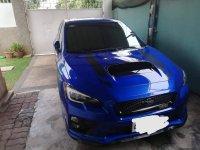 Selling Blue Subaru Wrx 2015 Hatchback in Davao City