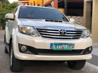 Sell White 2013 Toyota Fortuner SUV / MPV in Manila