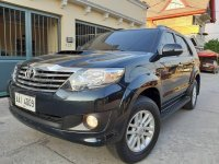 Selling Black Toyota Fortuner 2014 SUV / MPV in Manila