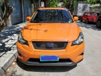 Selling Orange Subaru Xv 2012 Hatchback in Manila