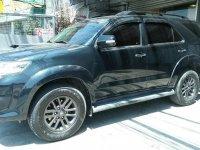 Black Toyota Fortuner 2014 SUV / MPV for sale in Manila