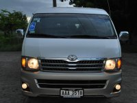 Sell White 2016 Toyota Hiace Van in Manila