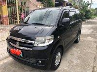 Black Suzuki Apv 2012 Van for sale in Manila