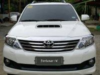 Selling White Toyota Fortuner 2014 in Cebu City