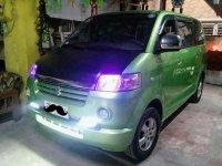 Sell Green 2008 Suzuki Apv in Makati City