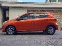Orange Toyota Wigo 2018 for sale in Manila