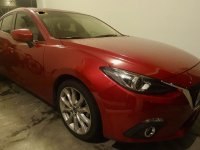 Selling Red Mazda 3 2015 Sedan in Parañaque