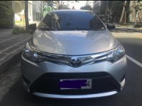 Silver Toyota Vios 2014 for sale in Las Piñas City