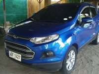 Selling Blue Ford Ecosport 2015 at 42000 in Quezon City