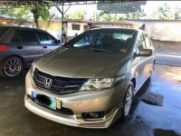 Silver Honda City 2010 Sedan for sale in Calamba