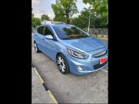 Selling Blue Hyundai Accent 2014 Hatchback in Calasiao