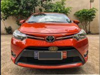 Selling Red Toyota Vios 2016 Sedan in Quezon City