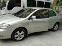 Selling Silver Toyota Corolla altis 2004 Sedan in Manila