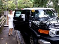 Selling Black Toyota Fj Cruiser 2015