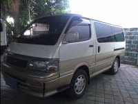 Selling Beige Toyota Hiace 1995 in Quezon City