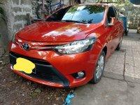 Sell Orange 2016 Toyota Vios Sedan in Valenzuela