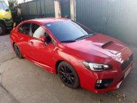 Red Subaru Wrx 2014 Hatchback for sale in Navotas