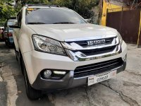 Selling Pearl White Isuzu Mu-X 2016 in Quezon City