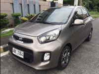 Selling Grey Kia Picanto 2015 in Mandaluyong