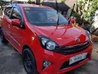 Selling Red Toyota Wigo 2016 in Manila