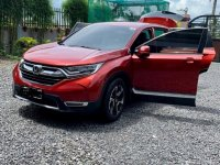 Red Honda Cr-V 2018 for sale in Tagaytay City