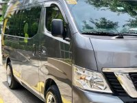 Sell Grey 2018 Nissan Nv350 Urvan in Quezon City