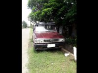 Red Toyota Tamaraw 1995 for sale in Tangub