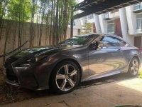 Grey Lexus Rc 2015 for sale in Manila