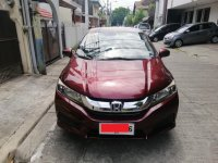 Red Honda City 2014 for sale in Pasig