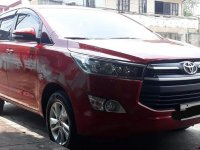 Red Toyota Innova 2016 for sale in Marikina