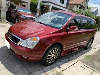 Red Kia Carnival 2014 for sale in Marikina