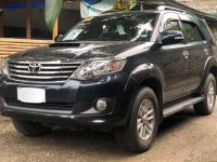 Balck Toyota Fortuner 2014 for sale in Malolos