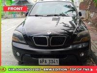 Black Kia Sorento 2007 SUV / MPV for sale in Quezon City