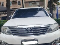 White Toyota Fortuner 2012 for sale in Manila